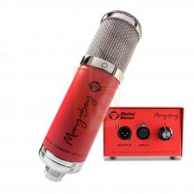 Monkey Banana Mangabey Tube Condensator Mircofoon ROOD microfoon met tube versterker