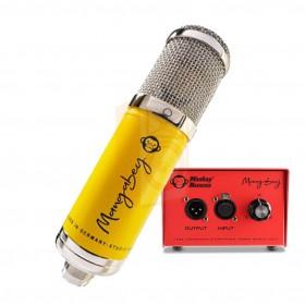 Monkey Banana Mangabey Tube Condensator Mircofoon geel microfoon met tube versterker