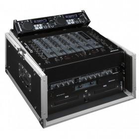 """JB-Systems DJ CASE 10/6U - Case voor b.v. 19"""" mixer en cd speler"""