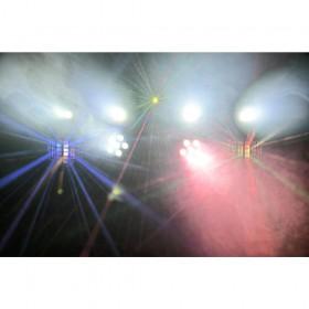 Verhuur ShowBar 2x PAR 6x 4in1 2xButterfly, Laser R/G DMX IRC 1 voordelig huren licht effect 3