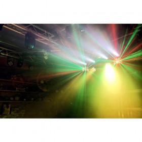 Verhuur ShowBar 2x PAR 6x 4in1 2xButterfly, Laser R/G DMX IRC 1 voordelig huren licht effect 5