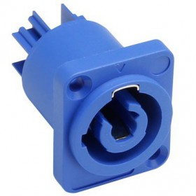 Adam Hall 7921 Chassis connector power-in Powercon alternatief voor de NAC3MPA