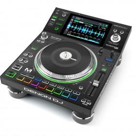 Denon DJ SC5000M Prime Pro media speler met meedraaiende jogwheel schuin