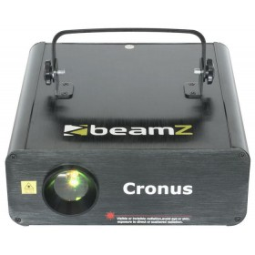B-stock - BeamZ Cronus - Animatie Laser R/G/Y DMX SD - Voorkant