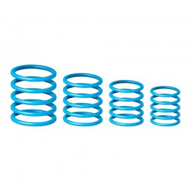 Gravity RP 5555 BLU 1 - Universele Gravity ringen pak, donker blauw