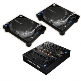 2x Pioneer PLX-1000 + Pioneer DJM-900 Nexus 2 Mixer