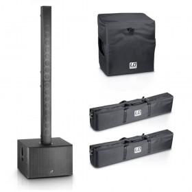 LD Systems MAUI 44 actieve PA systeem Set 1 incl Tassen