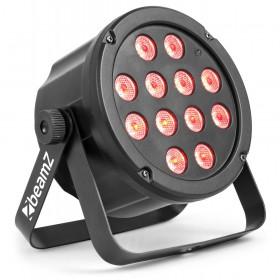 BeamZ SlimPar 35 12x3w RGB Led Spot met DMX