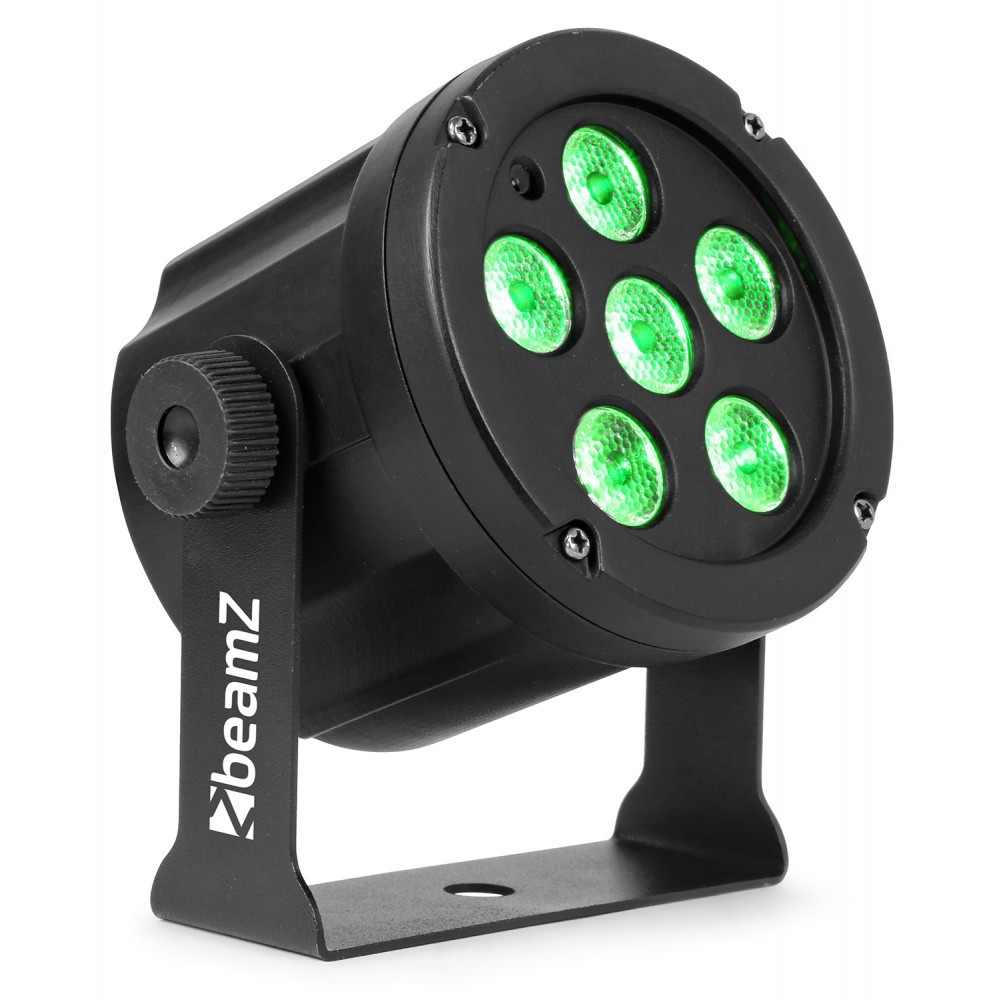BeamZ SlimPar 30 6x3w RGB Led Spot met IRC