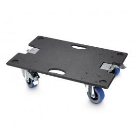 LD Systems MAUI 44 actieve PA systeem Set 2 incl Tassen en Wheelboard - caster