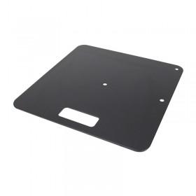 Equinox Pipe & Drape Base plate Zwart