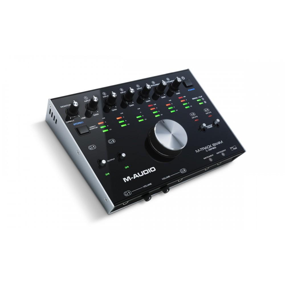 M-Audio M-Track 8x4M - 8-In/4-uit 24-bit / 192kHz USB Geluidskaard en MIDI Interface