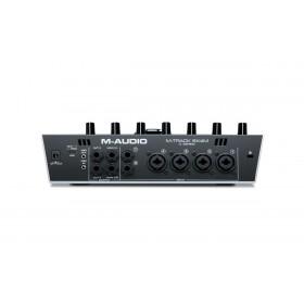 M-Audio M-Track 8x4M - 8-In/4-uit 24-bit / 192kHz USB Geluidskaard en MIDI Interface aansluitingen achter