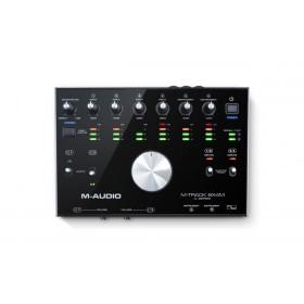 M-Audio M-Track 8x4M - 8-In/4-uit 24-bit / 192kHz USB Geluidskaard en MIDI Interface bovenaanzicht