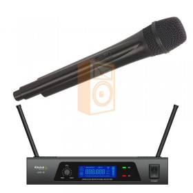 IBIZA Sound UHF10A - 1-Kanaals UHF Microfoonsysteem 863.90Mhz - DJ-Verkoop.nl