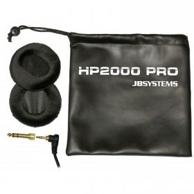 JB Systems HP-2000 Pro Hoofdtelefoon accessoires