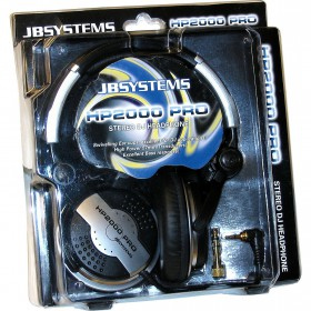 JB Systems HP-2000 Pro Hoofdtelefoon in de verpakking / doos