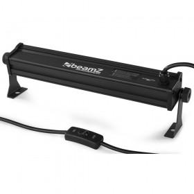 BeamZ BUV93 - LED Bar 6x3W UV aansluiting en schakelaar