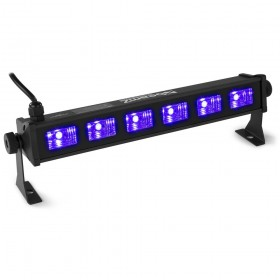 BeamZ BUV93 - LED Bar 6x3W UV voorkant 2