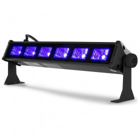 BeamZ BUV93 - LED Bar 6x3W UV voorkant
