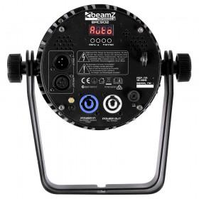 BeamZ Professional BAC500 - Aluminum LED ProPar - aansluitingen