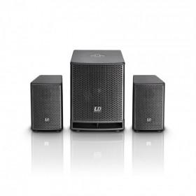 set 4 verhuur speakers