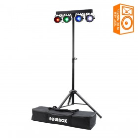 Equinox Microbar COB Systeem COB LED Par Bar - overzicht