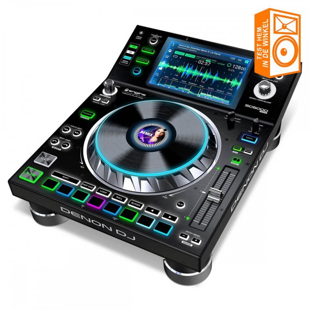 Test de Denon DJ SC5000 Prime bij ons in de winkel voor je hem koopt! We hebben een demo set in de winkel staan.