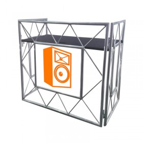 Truss dj booth voorzijde - EQUINOX EQLED150