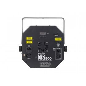 EUROLITE LED FE-2500 Hypno Hybrid Laser effect achterkant aansluitingen
