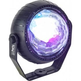 Party Light & Sound TRIFX - Set van 3 Mini LED Licht effecten - astro effect