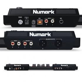 Numark NV II Digitale DJ Controller voor Serato DJ achtekant, aansluitingen