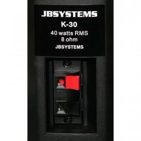 JB Systems K30 aansluiting Zwart