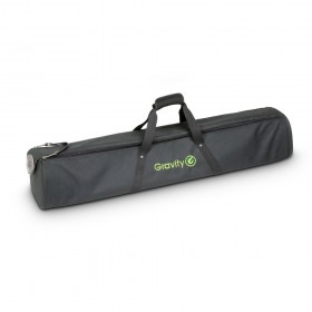 Gravity BGSS 2 B - Transport tas voor 2 luidsprekerstandaards front voorkant