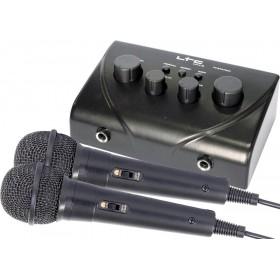 LTC Karaoke Mixer Met 2 Microfoons