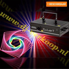Verhuur - BRITEQ CLUBLASER-7 Mk2 - zeer hoge kwaliteit scanner 7 kleuren laser huren