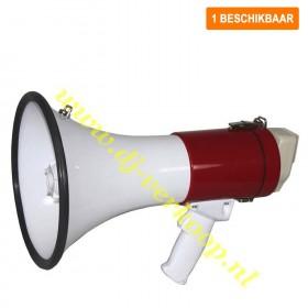 Verhuur - 50 W Megafoon met Sirene, Recorder en Accu