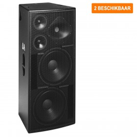 """Verhuur - EAW Set. LA325 - set van 2x 1600Watt RMS dubbel 15"""" Full ranges speakers huren"""