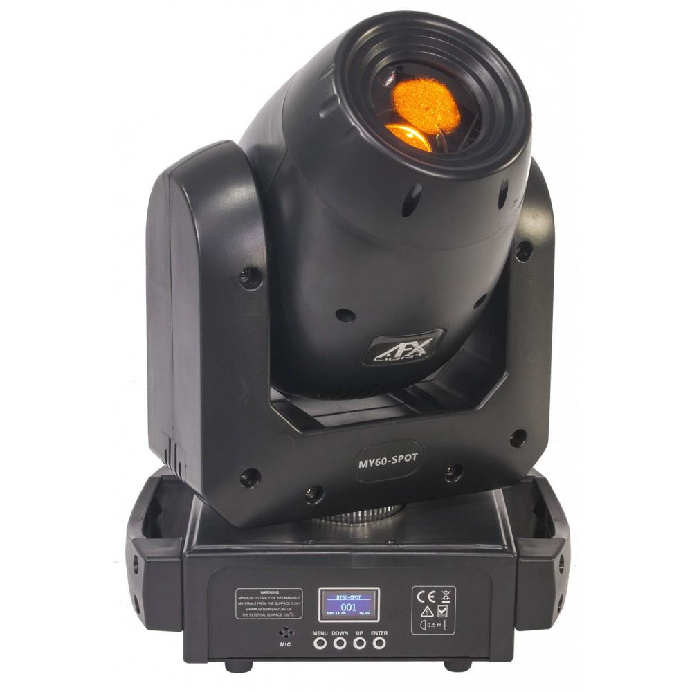 AFX Light MY60-SPOT - 60W led spot moving head met prisma - Voorkant