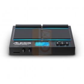 Alesis SamplePad 4 Percussie en sample-triggering instrument voorkant en display overzicht