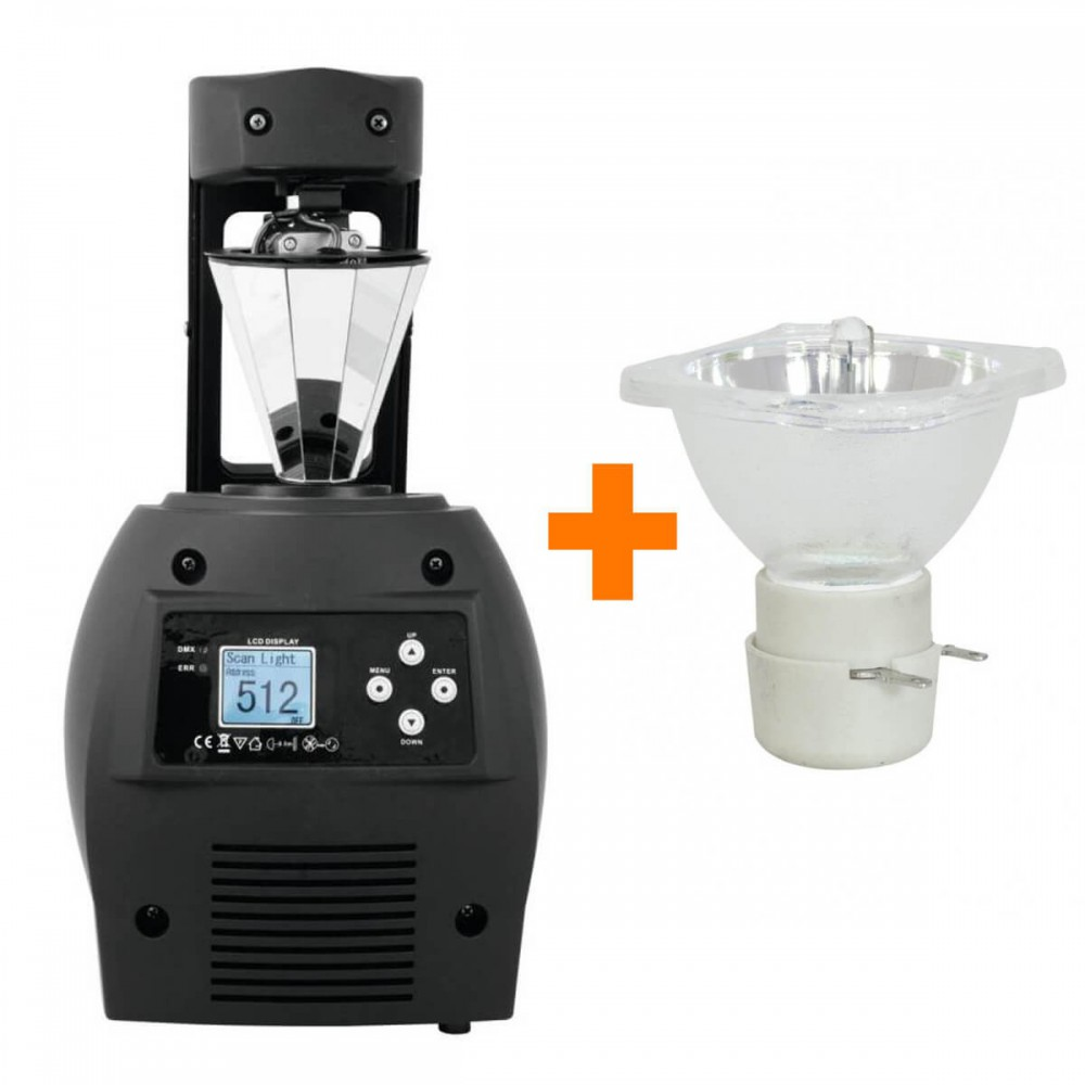 EUROLITE BE-200 Barrel scanner Inclusief 5R ontladingslamp