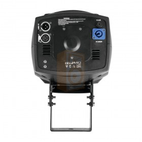 EUROLITE BE-200 Barrel scanner Inclusief 5R ontladingslamp onderkant met dmx aansluiting en voeding