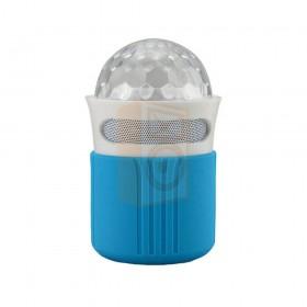 Ibiza sound FREESOUND-ASTRO - mini bluetooth speaker met blauw hoesje