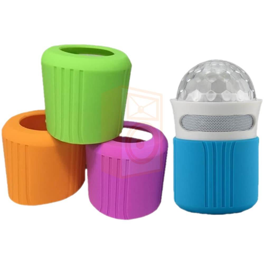 Ibiza sound FREESOUND-ASTRO mini bluetooth speaker met 4 kleuren omhulsels