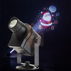 Contest Artist10W Gobo Projector met extra gobos voor elke gelegenheid