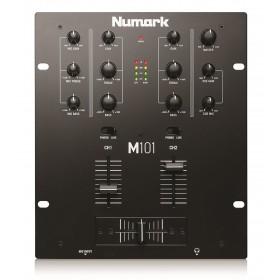 Numark M101 2 kanaals mixer / mengpaneel bovenkant