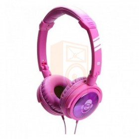 iDance JOCKEY500 - Paarse Hoofdtelefoon met microfoon