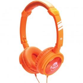 iDance JOCKEY400 - Oranje Hoofdtelefoon met microfoon