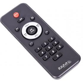 """Ibiza Sound  PORT-TFT12 - Mobiel oplaadbaar karaoke systeem met 15"""" TFT kleurenmonitor - Afstandsbediening"""