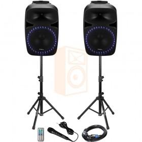 Ibiza sound PKG12A-SET hele set